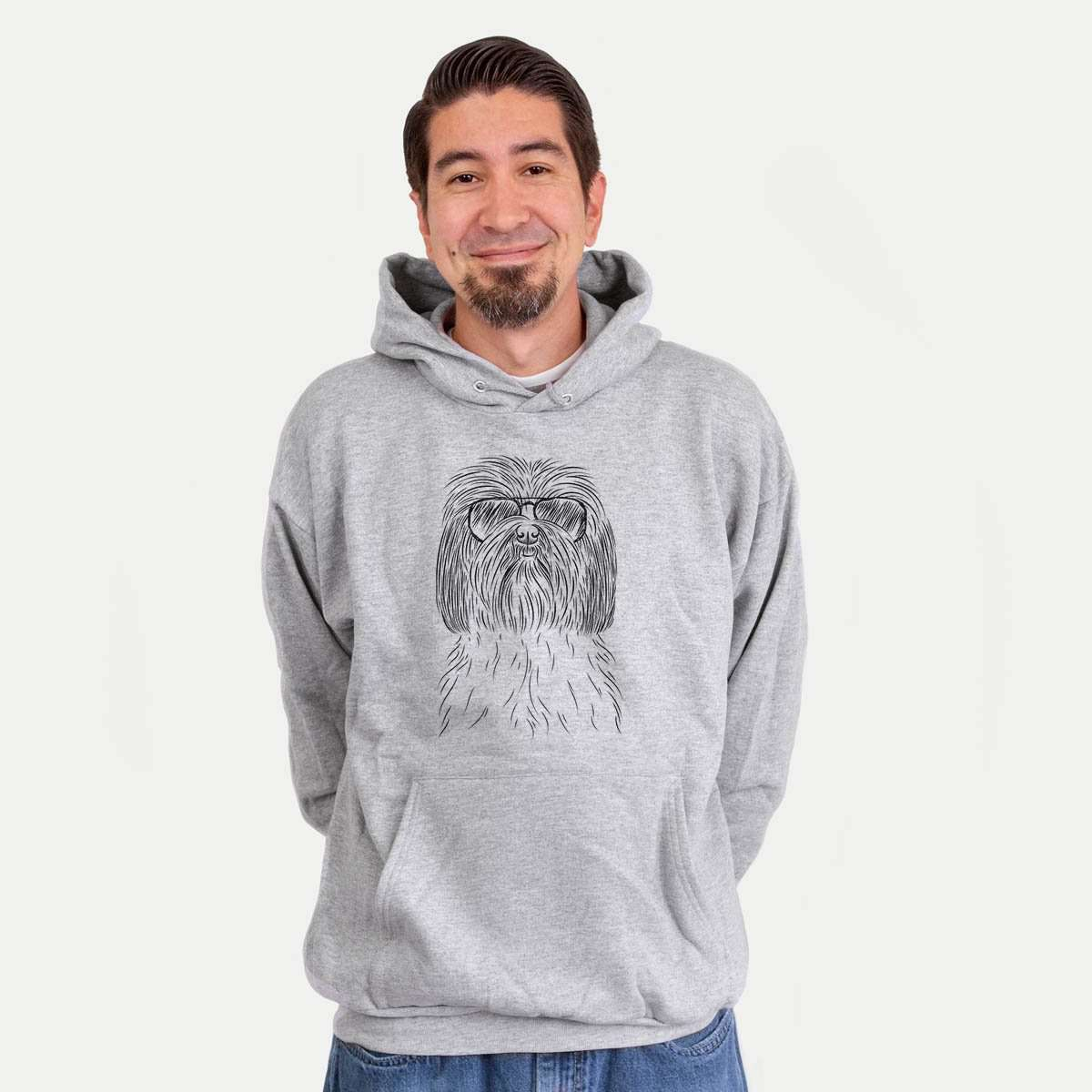 Scully the Shih Tzu - Mens Hooded Sweatshirt