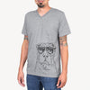 Sharpy the Shar Pei - Unisex V-Neck Shirt
