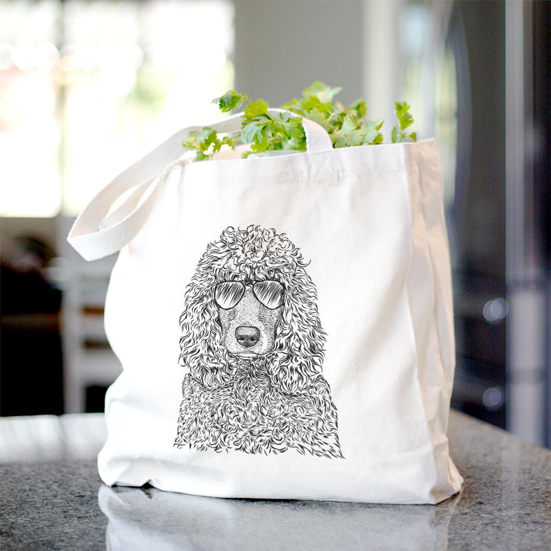 Shilo the Irish Water Spaniel - Tote Bag