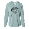 Sophia the Mixed Breed - Cali Wave Hooded Sweatshirt