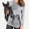 Suki the Japanese Chin - Long Sleeve Crewneck