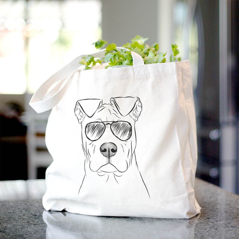 Sweet Finn the Mixed Breed - Tote Bag