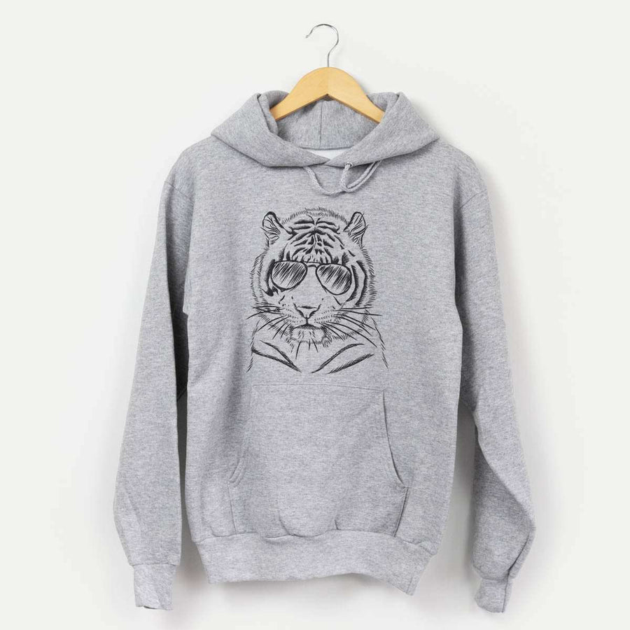 Taz the Tiger - Mens Hooded Sweatshirt