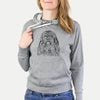 Trinket the Tibetan Terrier - French Terry Hooded Sweatshirt