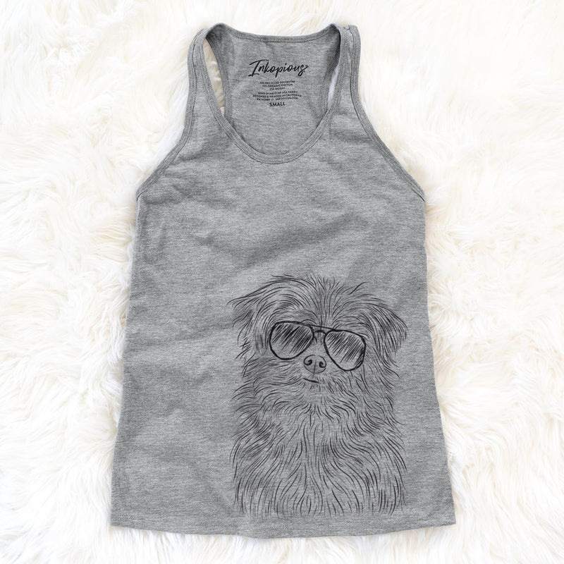 Trixie the Terrier Mix - Racerback Tank Top