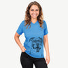 Tuckeroo the Boxer - Unisex V-Neck Shirt