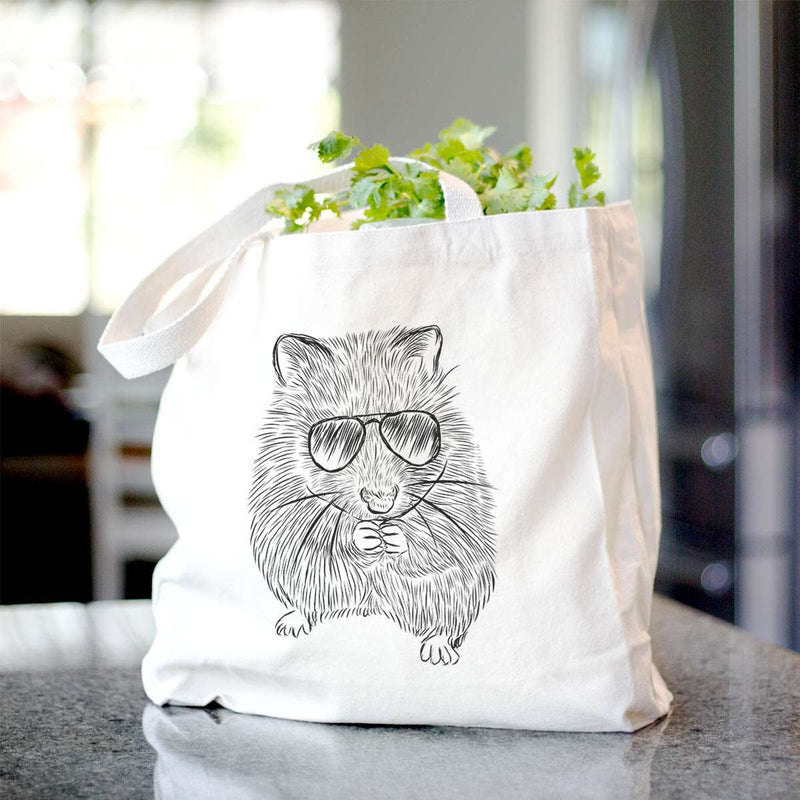 Twitch the Golden Hamster - Tote Bag
