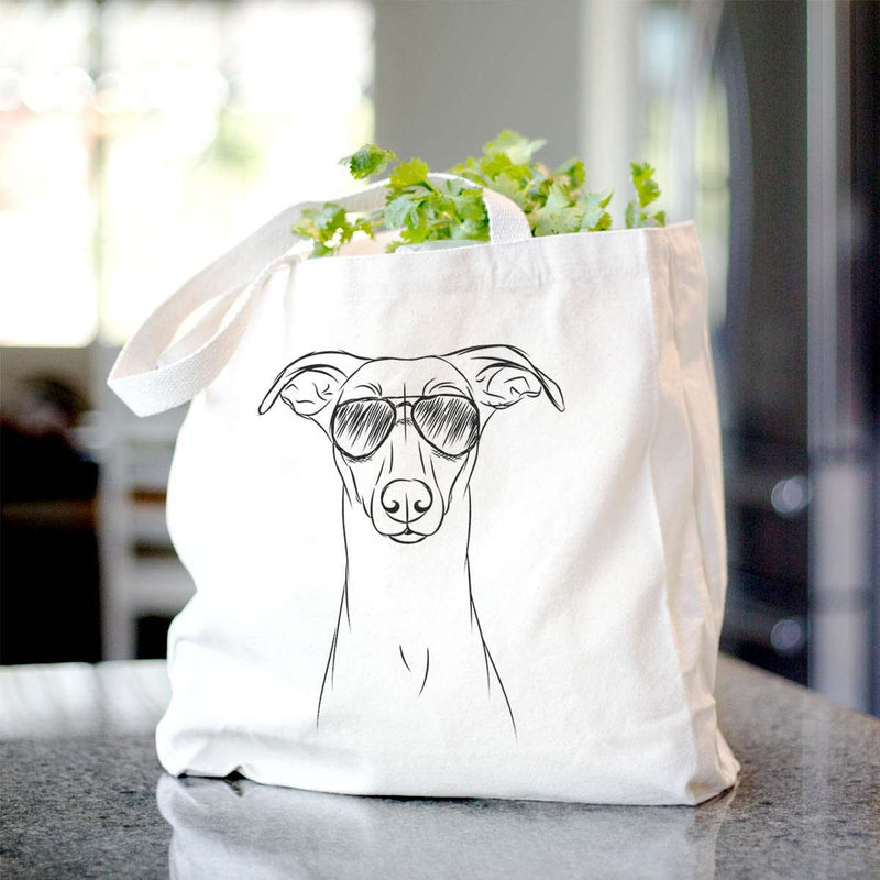 Wallace the Whippet - Tote Bag