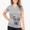 Waylon the Boxane - Women's Modern Fit V-neck Shirt