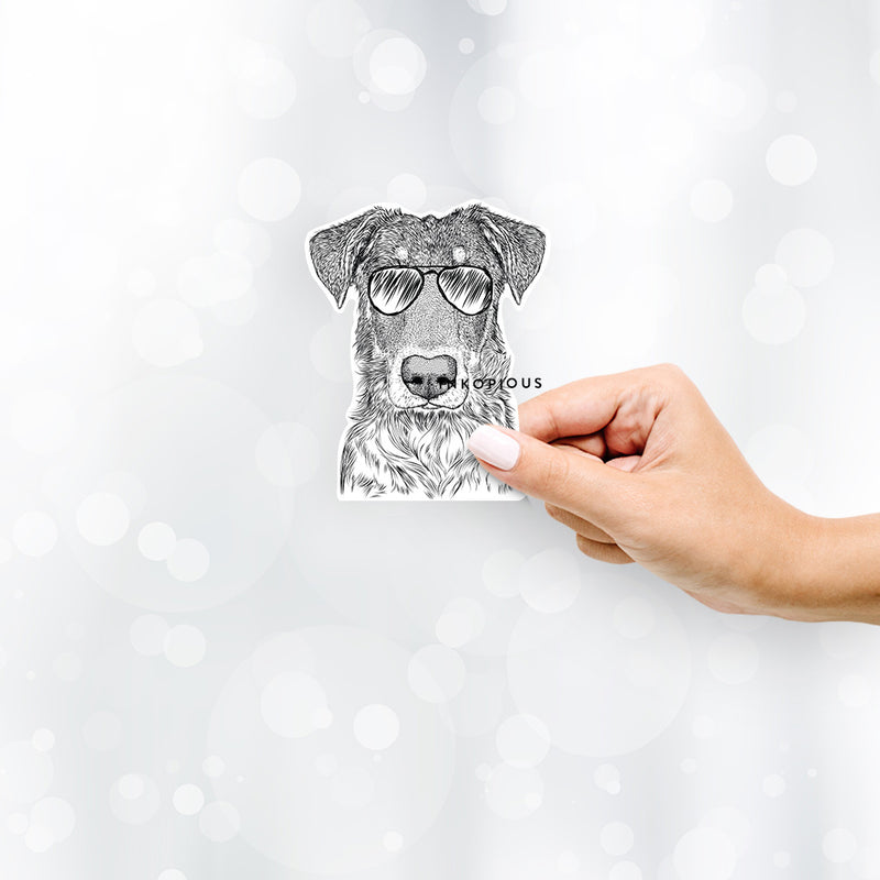 Wesson the Beauceron - Decal Sticker