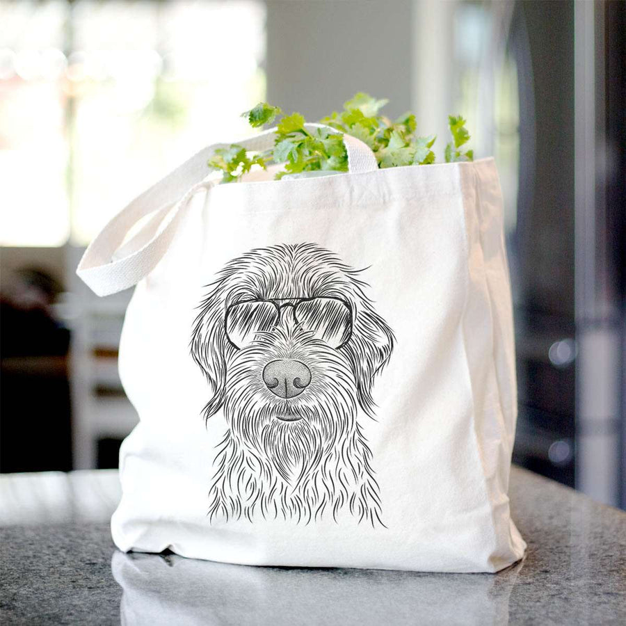 Wilkins the Wirehaired Pointing Griffon - Tote Bag