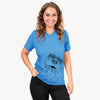 Xena the American Staffordshire Terrier - Unisex V-Neck Shirt