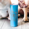 Loganator the Golden Retriever - 20oz Skinny Tumbler