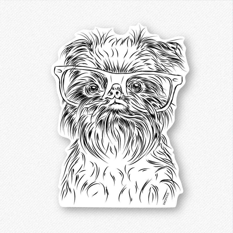 Alo the Brussels Griffon - Decal Sticker
