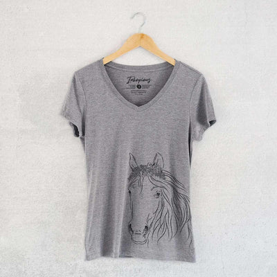 Aria the Horse - Women's Modern Fit V-neck Shirt