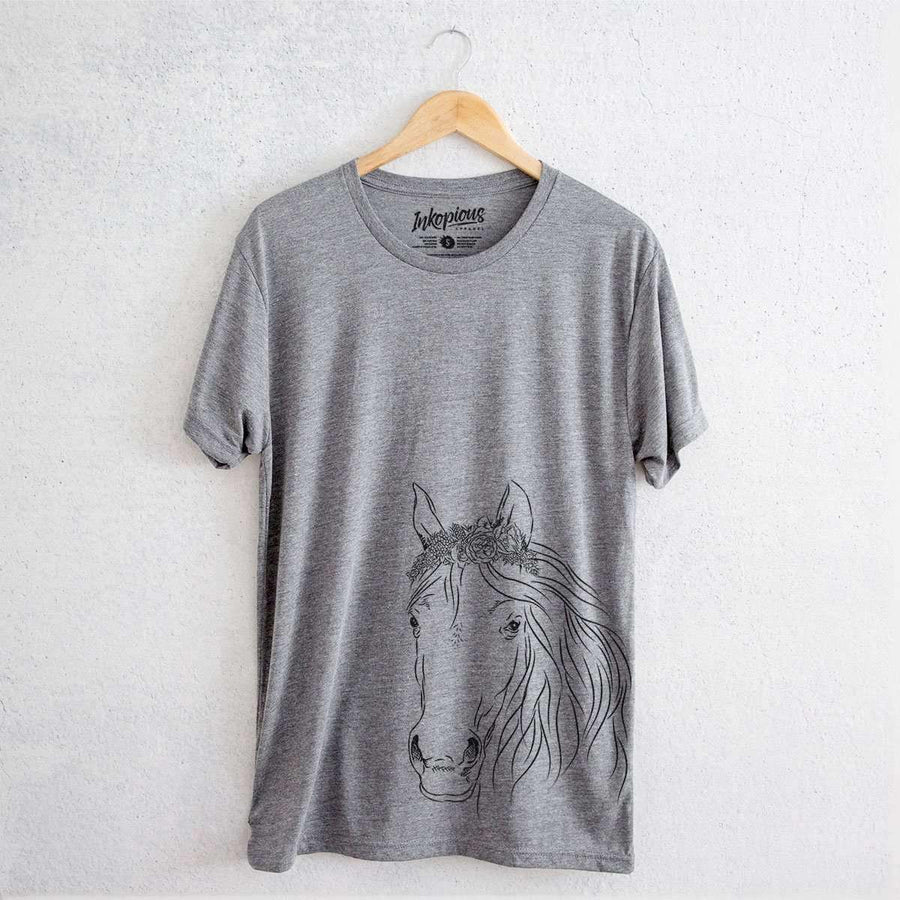 Aria the Horse - Tri-Blend Unisex Crew Shirt