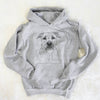 Abby the Boxer/Beagle Mix - Unisex Hooded Sweatshirt