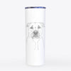 Abby the Boxer/Beagle Mix - 20oz Skinny Tumbler
