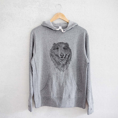 Addie the Mixed Breed - French Terry Hooded Sweatshirt