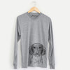 Almond the Wirehaired Dachshund - Long Sleeve Crewneck