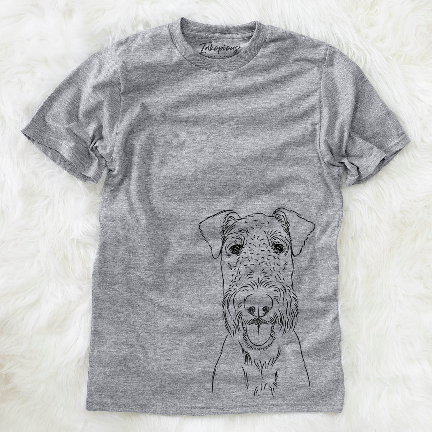 Andy the Airedale Terrier - Unisex Crewneck
