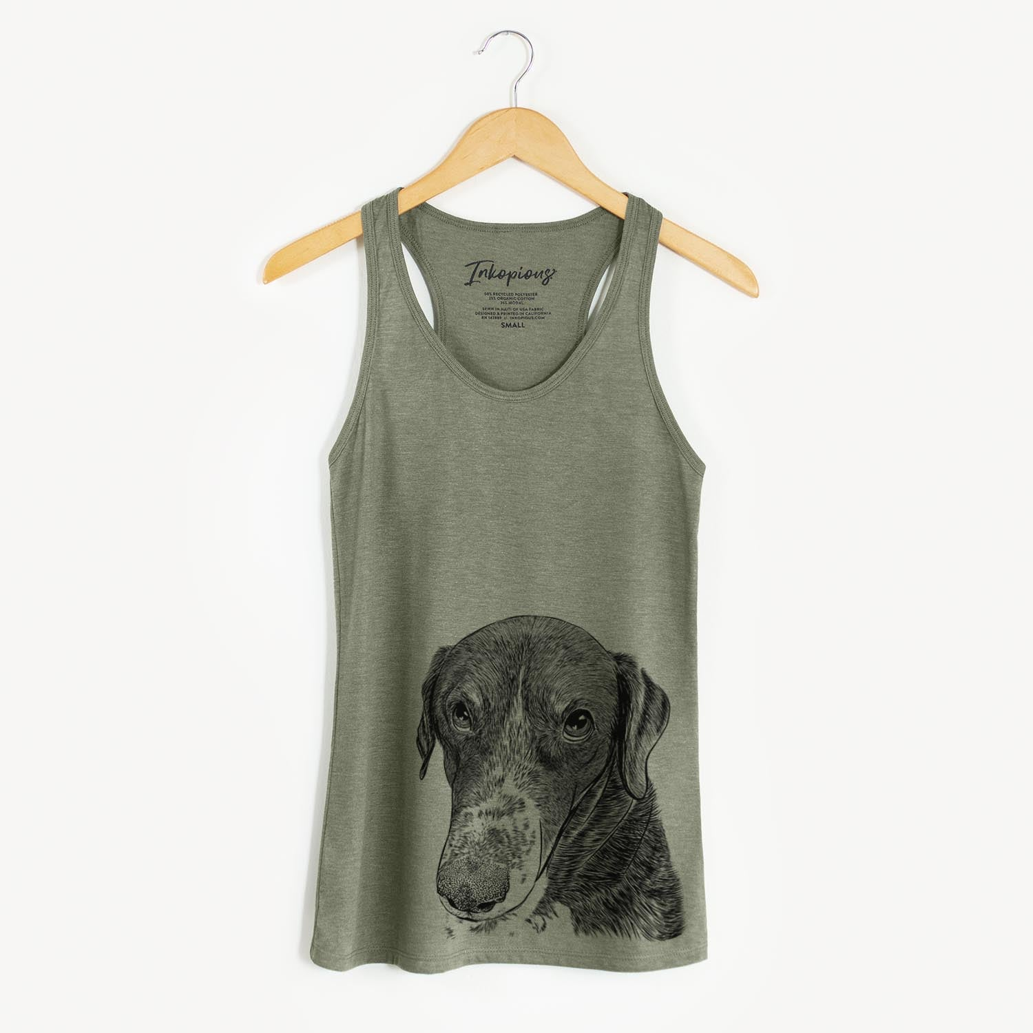 Angel Orion the Mixed Breed - Racerback Tank Top