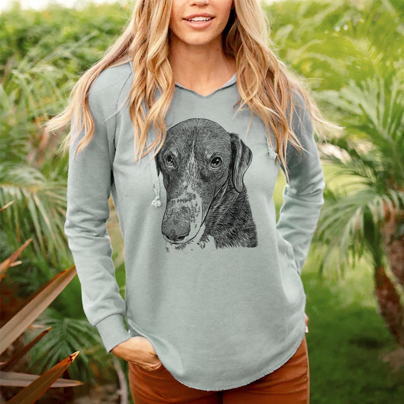 Angel Orion the Mixed Breed - Cali Wave Hooded Sweatshirt