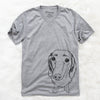 Annabelle the Dachshund - Unisex V-Neck Shirt