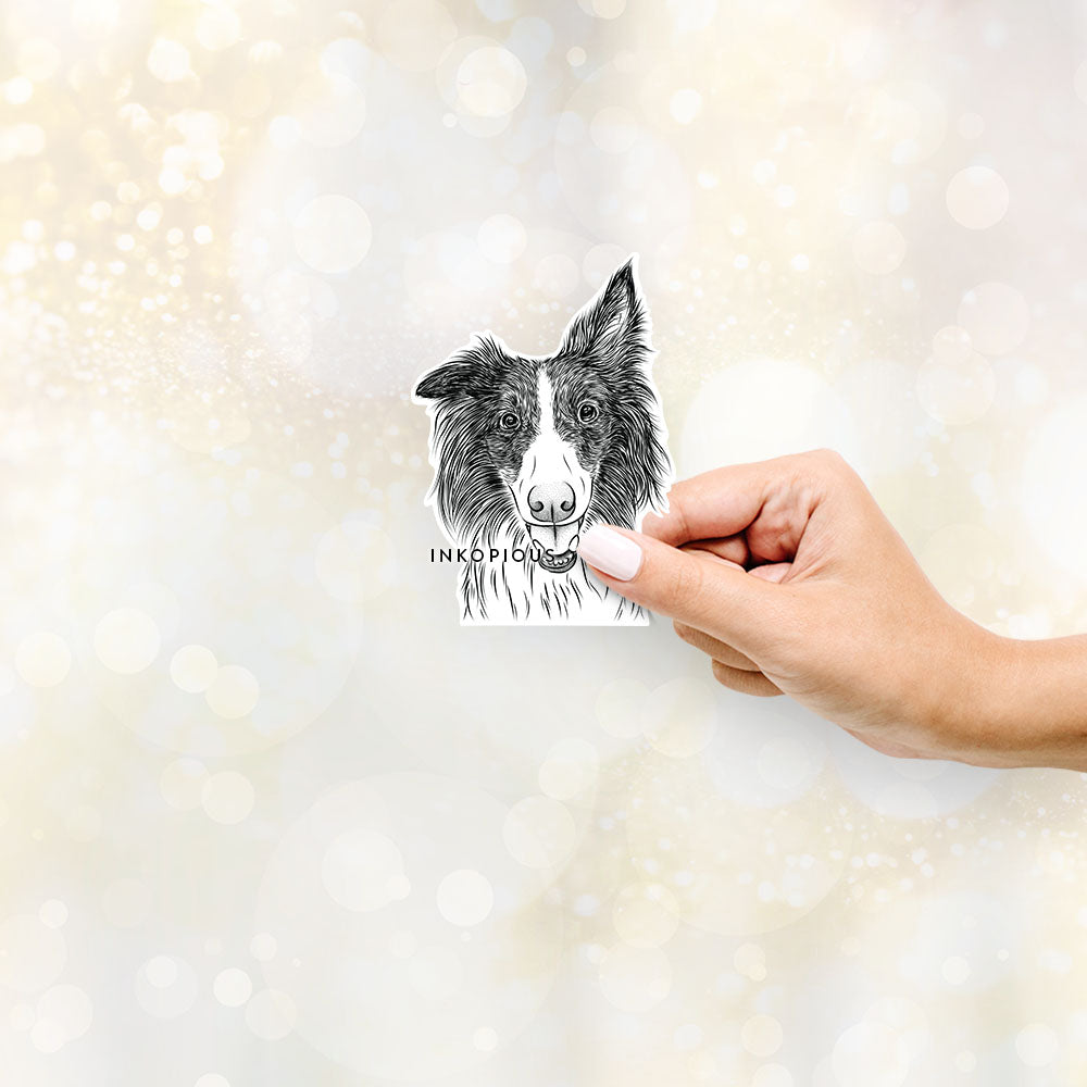 Archie the Silken Windhound - Decal Sticker