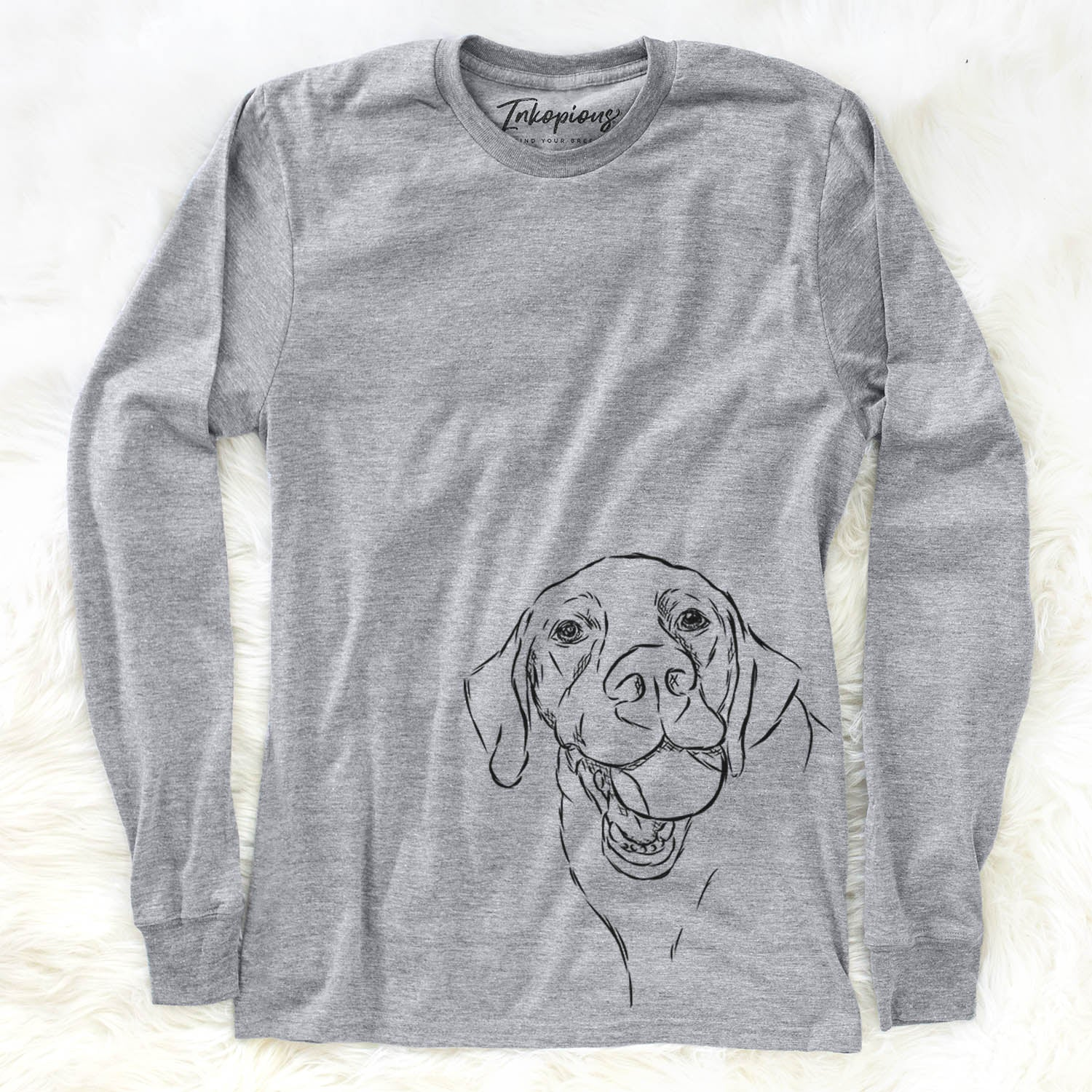 Bailey the Labrador Retriever - Long Sleeve Crewneck