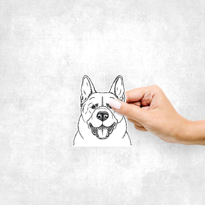 Baku the Akita - Decal Sticker