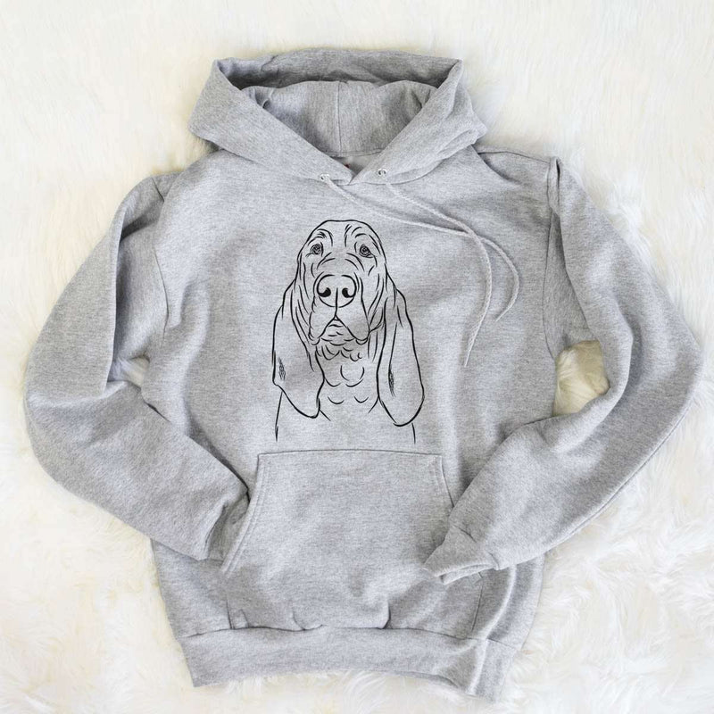 Baron the Bloodhound - Mens Hooded Sweatshirt