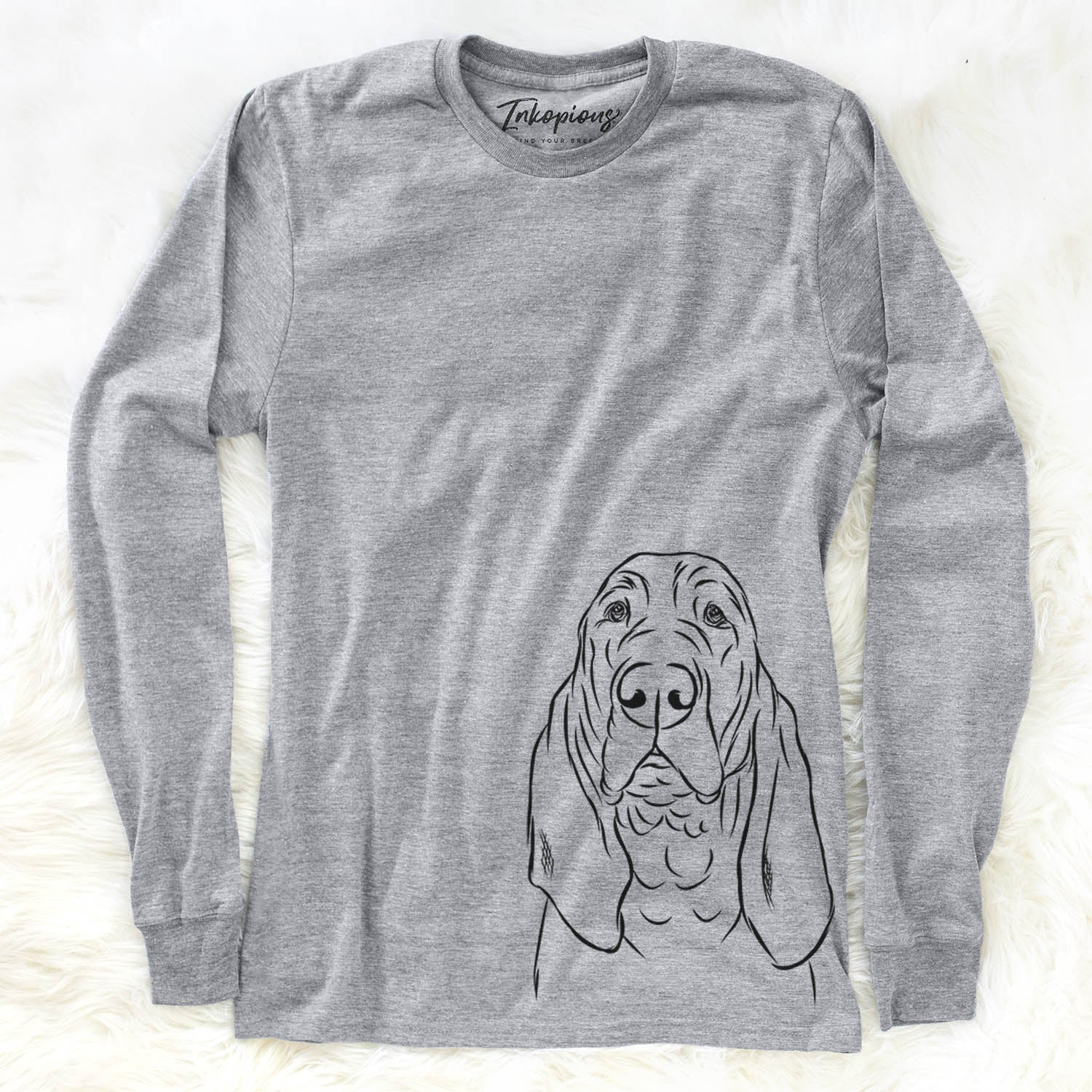 Baron the Bloodhound - Long Sleeve Crewneck