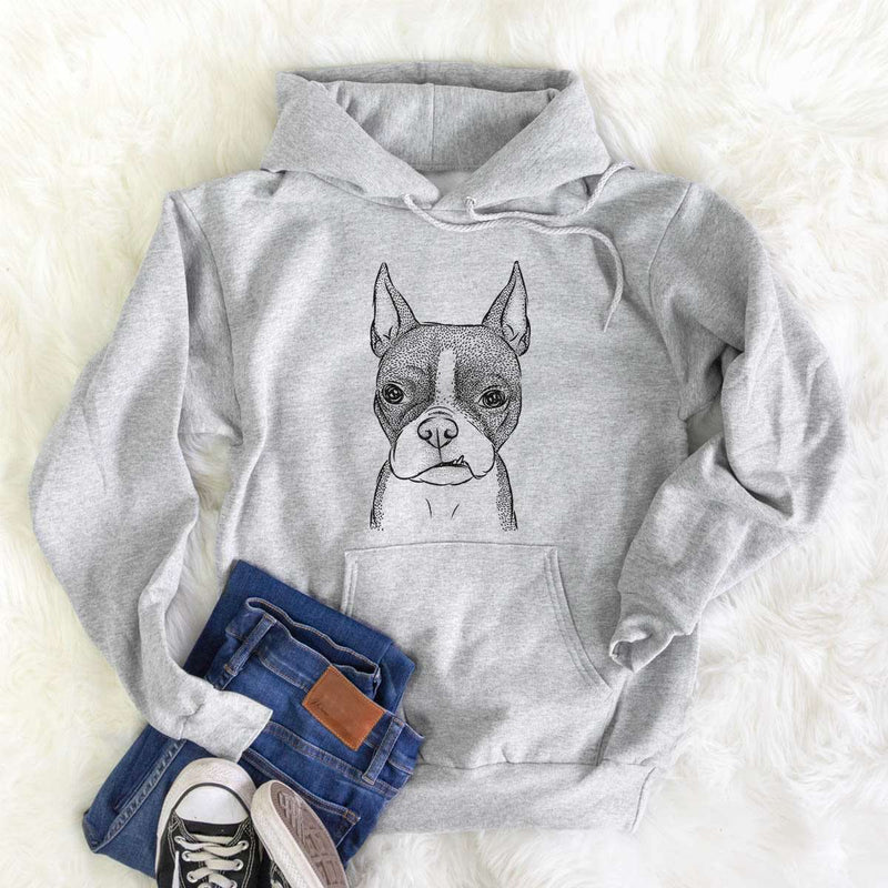 Bean the Boston Terrier - Mens Hooded Sweatshirt