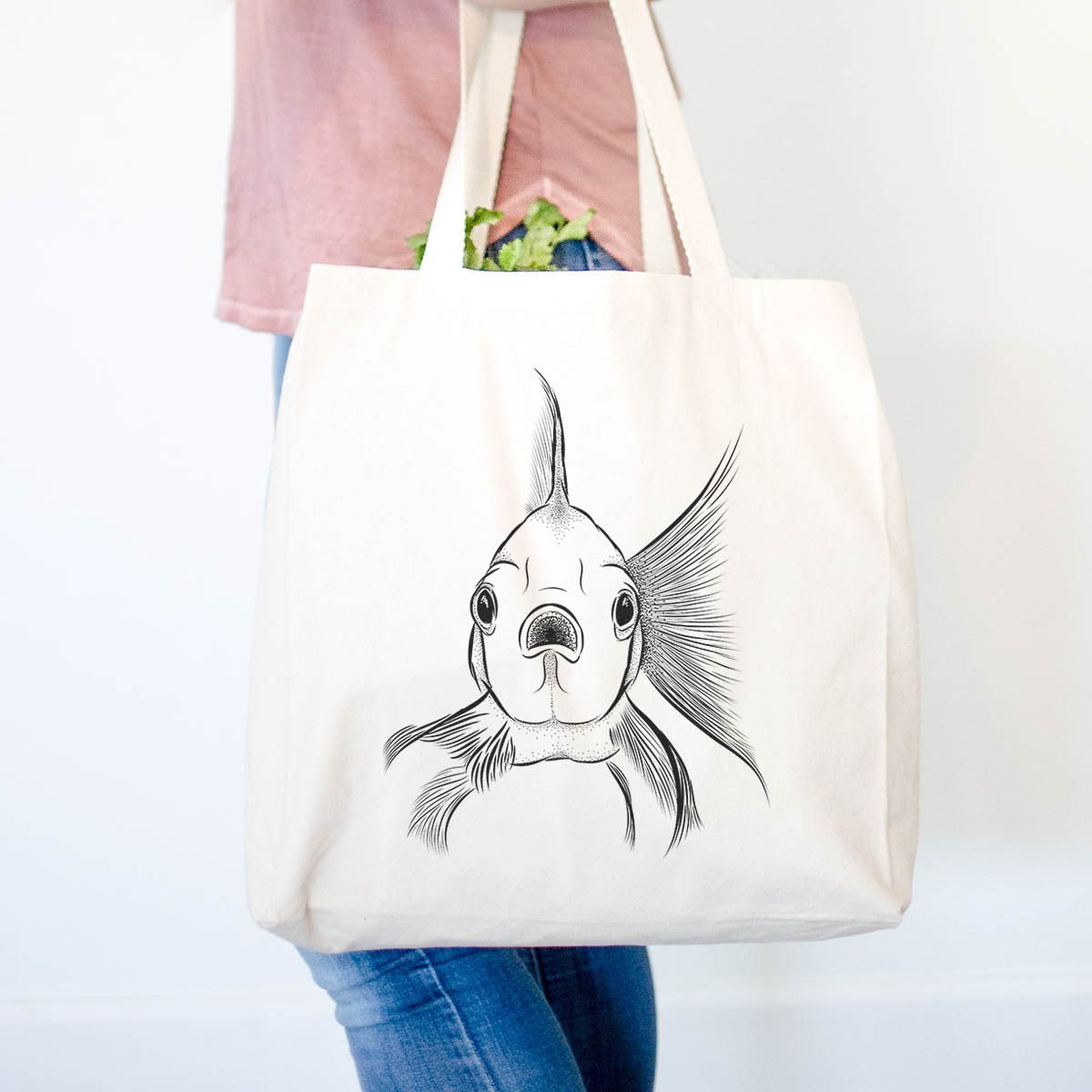 Beefcake the Goldfish - Tote Bag