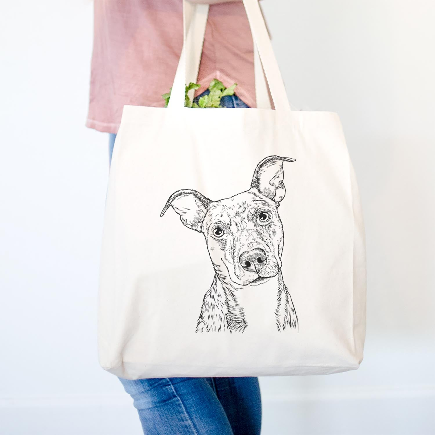 Bianca the Mixed Breed - Tote Bag