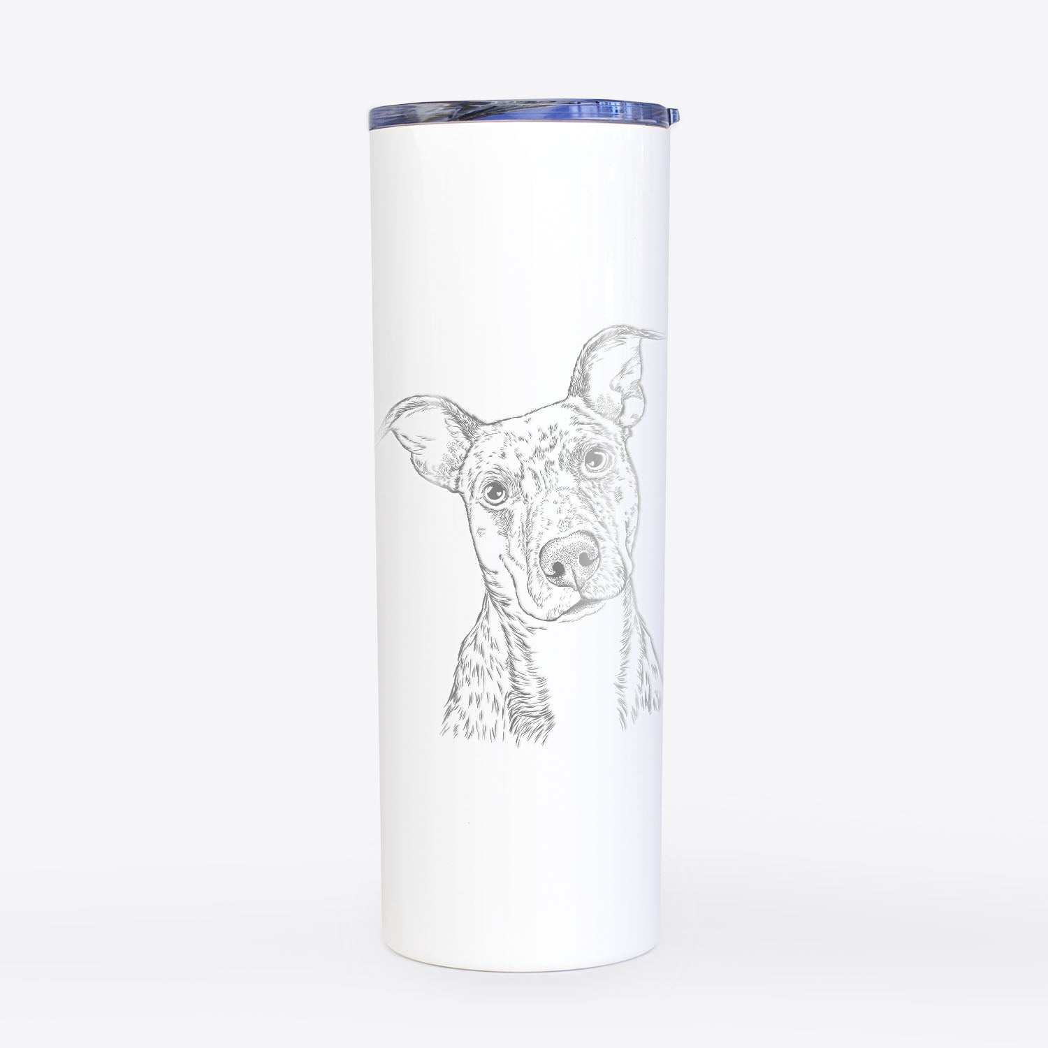 Bianca the Mixed Breed - 20oz Skinny Tumbler