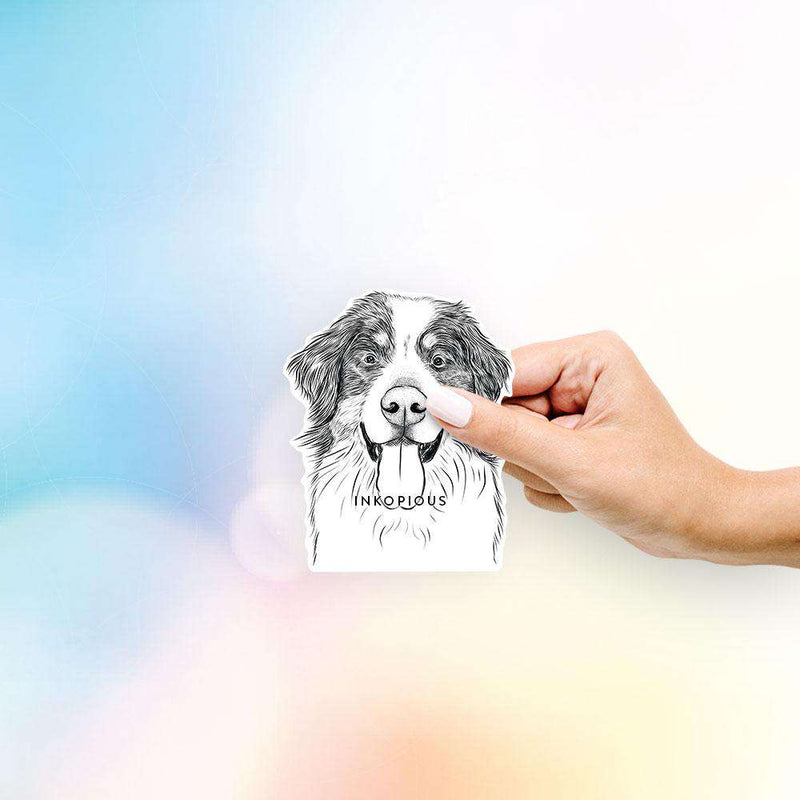 Blaze The Bernese Mountain Dog - Decal Sticker