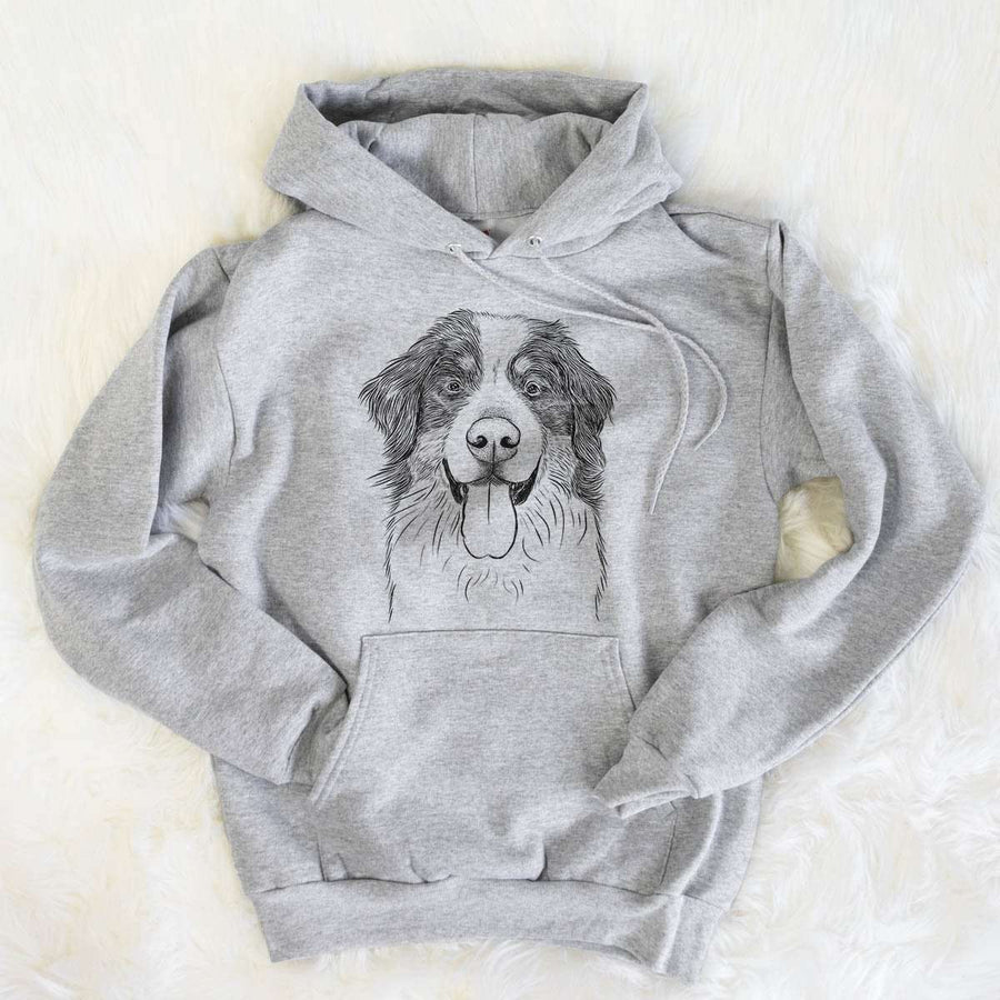 Blaze the Bernese Mountain Dog - Mens Hooded Sweatshirt
