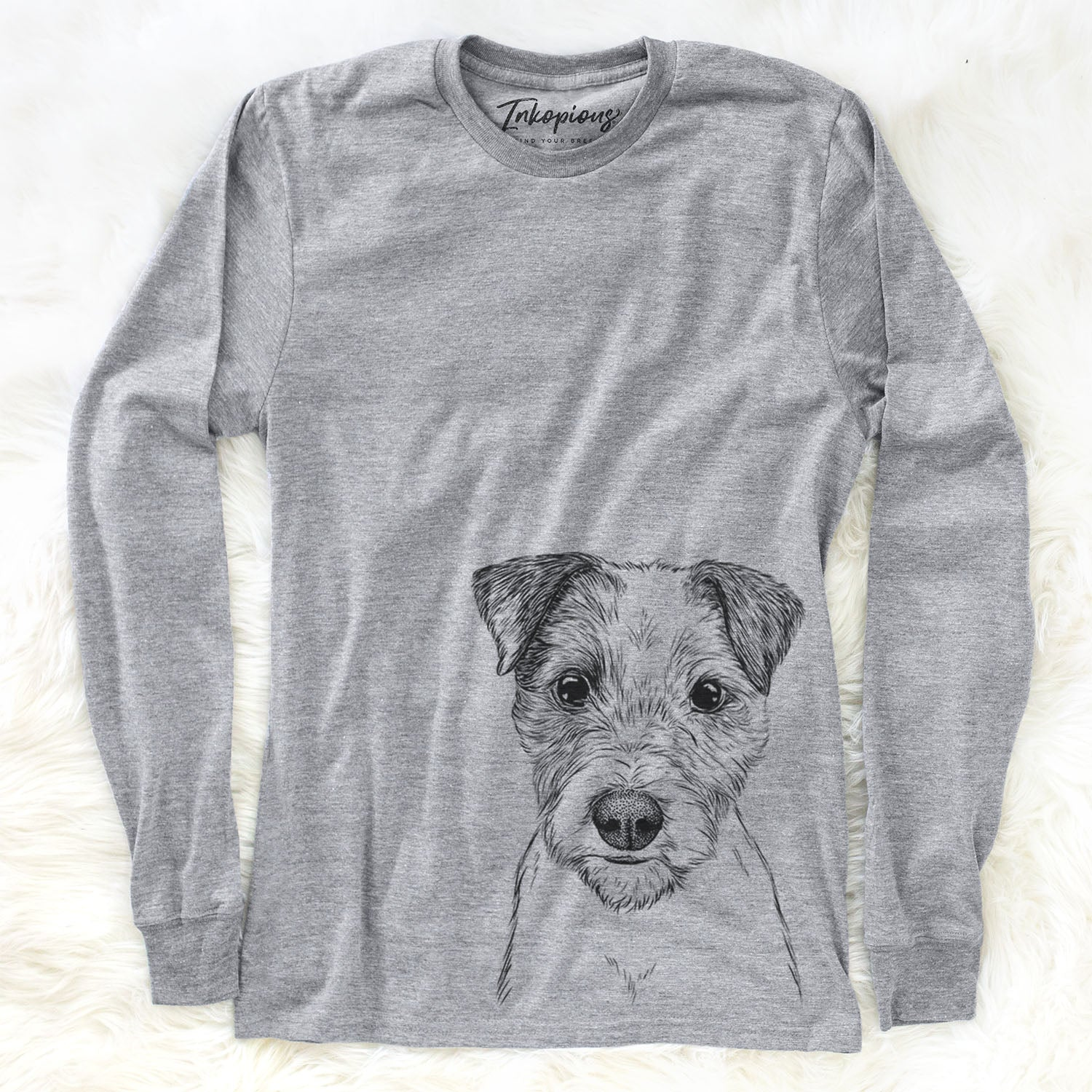 Bogart the Parsons Russell Terrier - Long Sleeve Crewneck