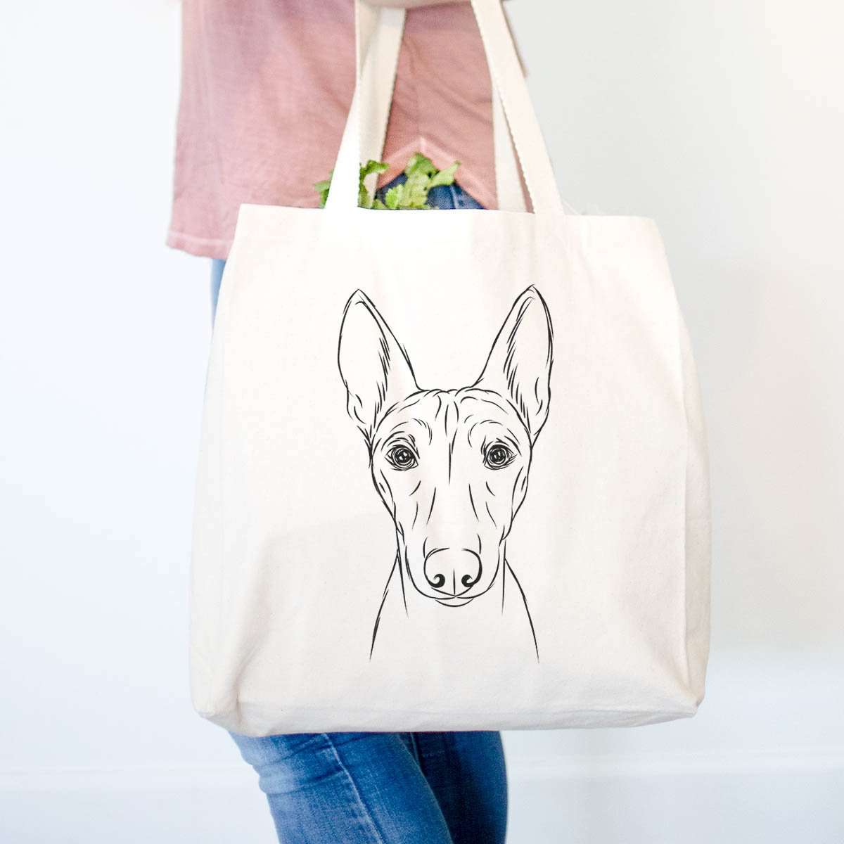 Bonsai the Basenji - Tote Bag