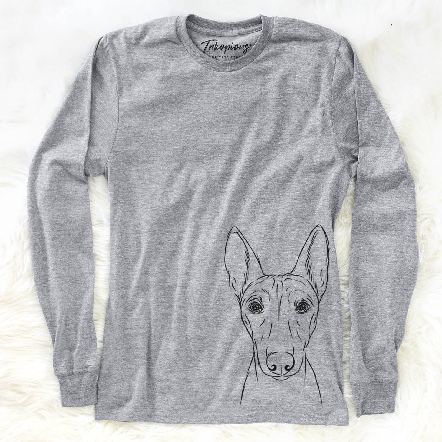 Bonsai the Basenji - Long Sleeve Crewneck