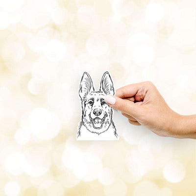 Brutus the German Shepherd - Decal Sticker