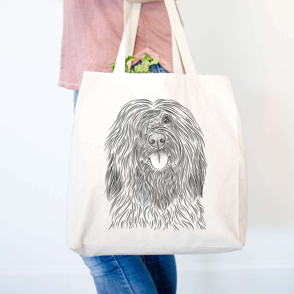 Bundy the Briard - Tote Bag