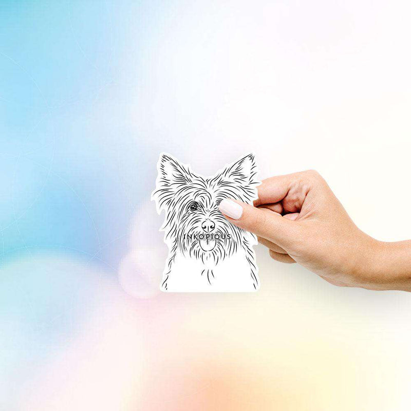 Calum the Cairn Terrier - Decal Sticker