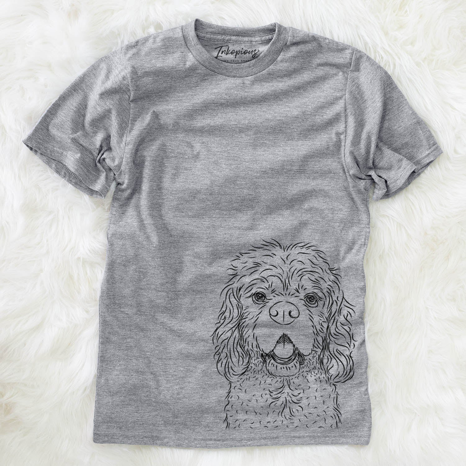 Casey the American Cocker Spaniel - Unisex Crewneck