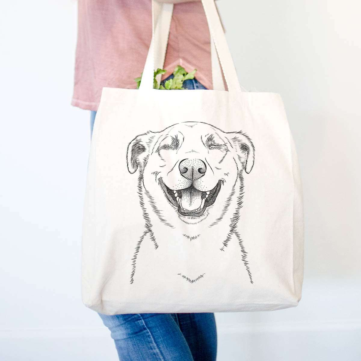 Chancellor the Mixed Breed - Tote Bag