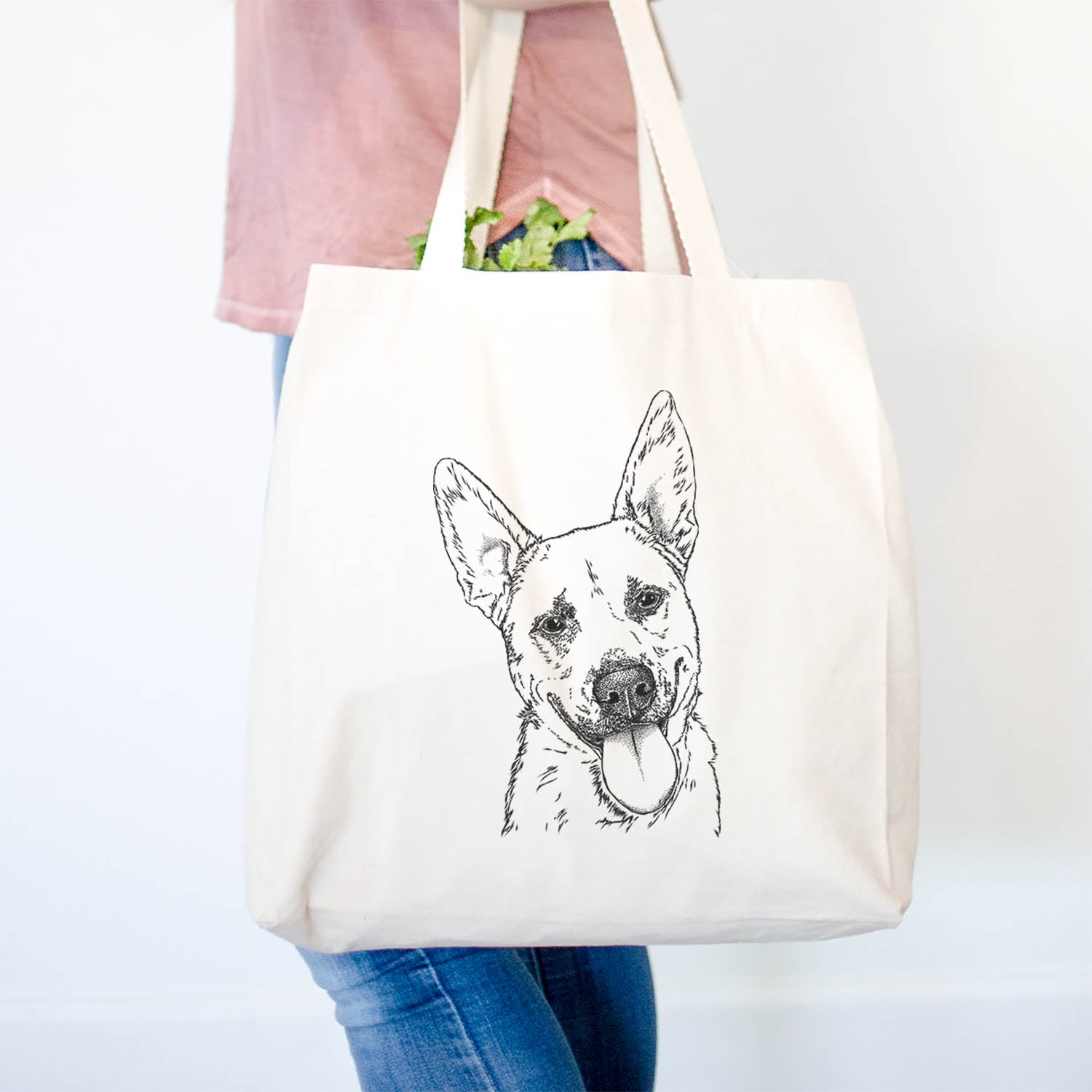 Charlie the Mixed Breed - Tote Bag