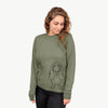 Charlie the Basset Hound - Long Sleeve Crewneck