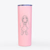 Charlie the BassetHound - 20oz Skinny Tumbler